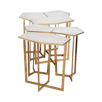 Regina Andrew Design - Gold Leaf Puzzle Table