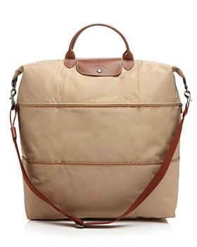 Longchamp - Le Pliage Expandable Travel Duffel Nylon Weekender