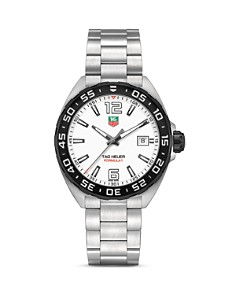 TAG Heuer Formula 1 Watch with Unidirectional Black Titanium Carbide Bezel, 41mm - Bloomingdale's_0