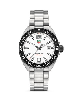TAG Heuer - TAG Heuer Formula 1 Watch with Unidirectional Black Titanium Carbide Bezel, 41mm