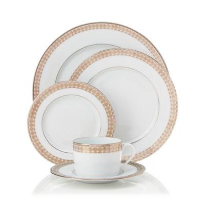 Eternity Blanc Dessert Plate