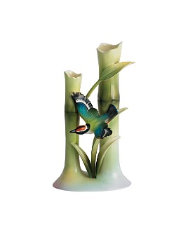 Franz Collection - Bamboo Songbird Bud Vase