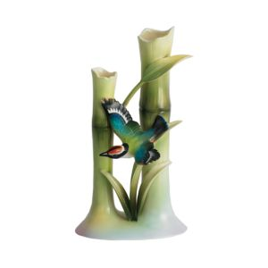 Franz Collection Bamboo Songbird Bud Vase