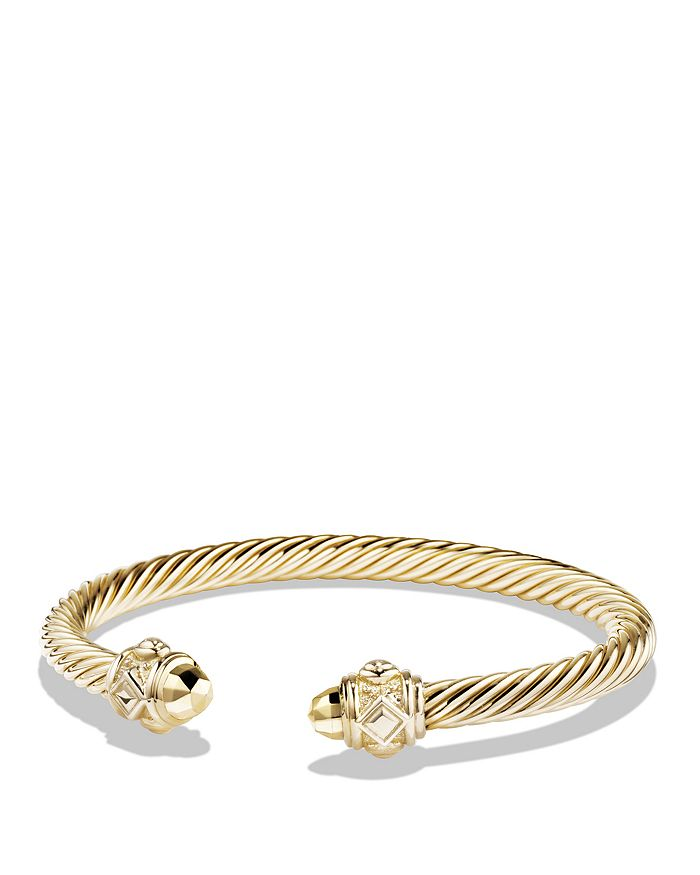David Yurman - Renaissance Bracelet in 18K Gold, 5mm