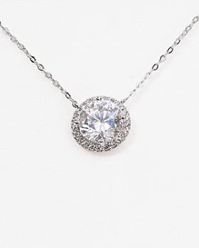 "Nadri - Circle Pendant Necklace, 16"""
