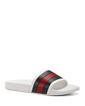 64bf26531171 Gucci - Men s Rubber Slide Sandals ...