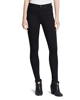 fd04c4d0 rag & bone - Ankle Leggings - The High Rise in Black ...