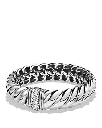 David Yurman - Hampton Cable Bracelet with Diamonds