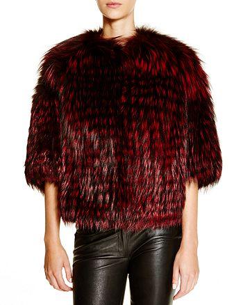 Maximilian Furs - Feathered Saga Fox Coat - 100% Exclusive