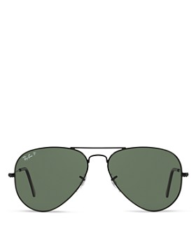 Ray-Ban - Unisex Polarized Original Aviator Sunglasses, 58mm