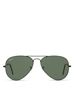 RayBan Polarized Original Aviator Sunglasses, 58mm