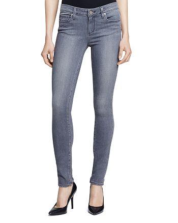 PAIGE - Silvie Transcend Verdugo Jeans in Light Grey