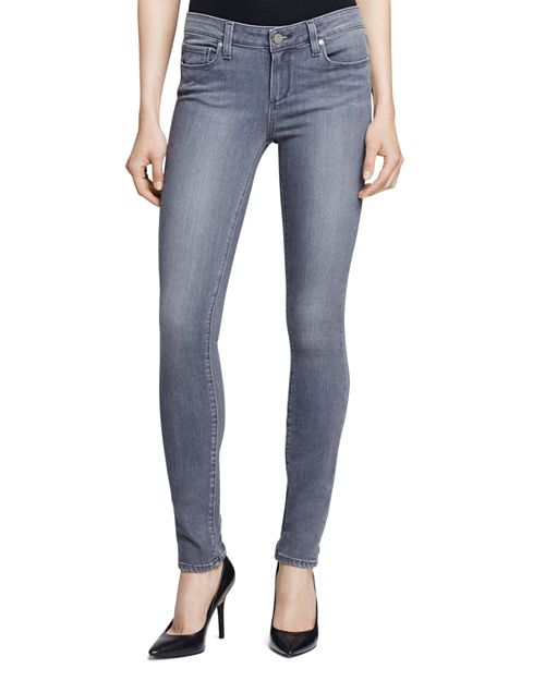 PAIGE - Silvie Transcend Verdugo Jeans in Light Grey