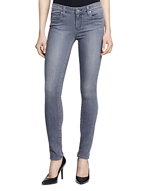 Paige Denim Silvie Transcend Verdugo Jeans in Light Grey