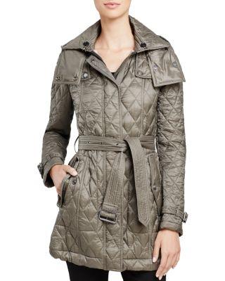 Burberry Baughton Quilted Coat Bloomingdales S