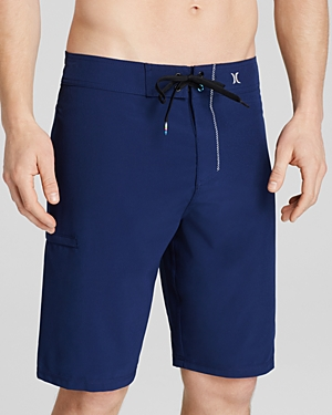 Crafted out of recycled material, these sleek Hurley board shorts provide cool, stylish comfort, whether you\\\'re catching waves or just relaxing poolside. (Clearance)