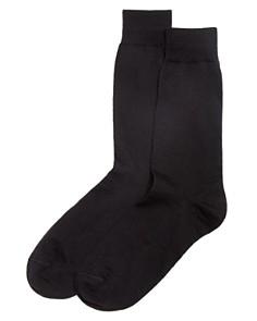 The Men's Store at Bloomingdale's Wool Blend Dress Socks - 100% Exclusive_0