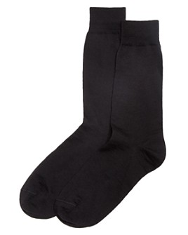 The Men's Store at Bloomingdale's - Wool Blend Dress Socks - 100% Exclusive