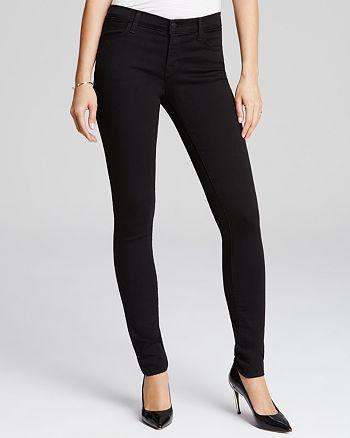 J Brand - 620 Skinny Jeans in Seriously Black