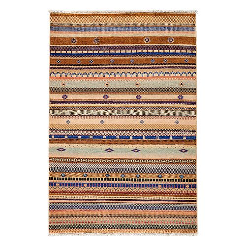 "Bloomingdale's - Tribal Collection Oriental Rug, 4'2"" x 6'3"""