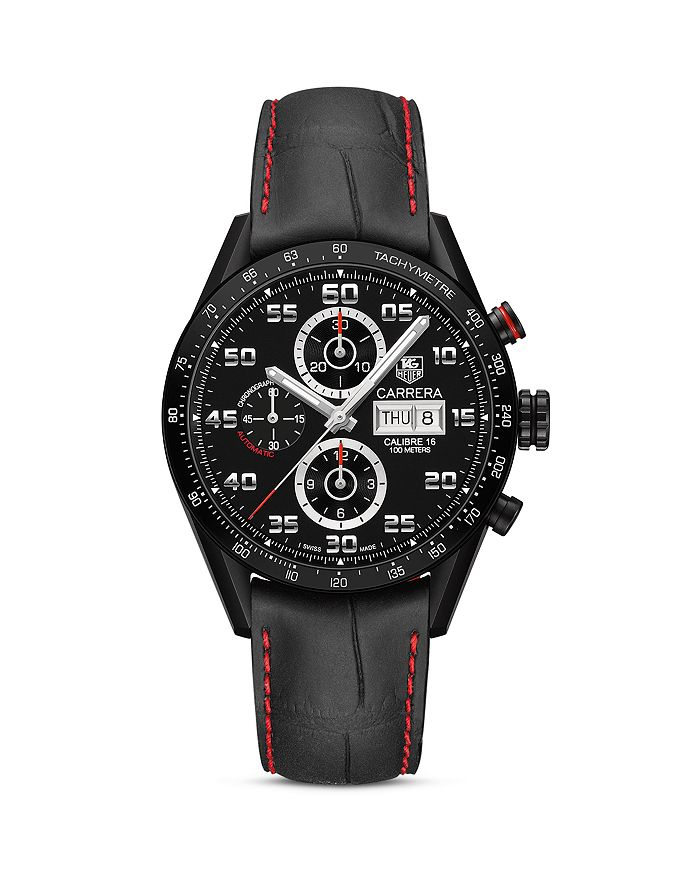 TAG Heuer - Carrera Automatic Tachymeter Titanium Watch, 43mm