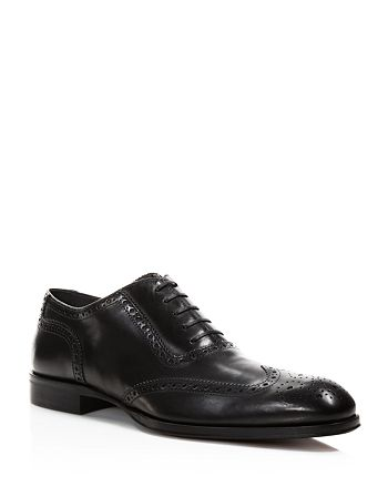 To Boot New York - Men's Blac Duke Wingtip Oxfords