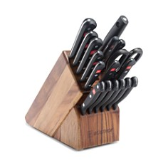 Wusthof Gourmet 18-Piece Knife Block Set, Acacia - Bloomingdale's Registry_0