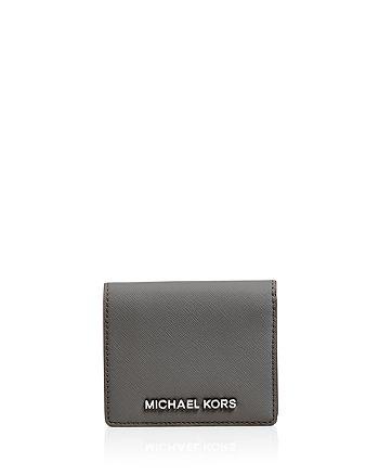 e1e40356f0e8 MICHAEL Michael Kors - Card Case - Jet Set Travel Flap
