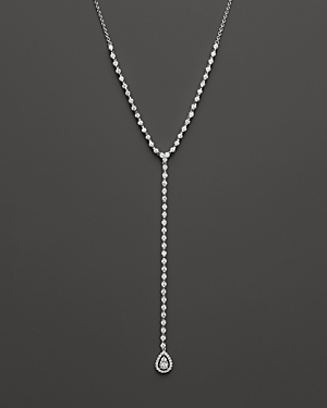 Diamond Y Necklace in 14K White Gold, 3.24 ct. t.w. - 100% Exclusive