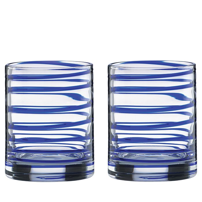 kate spade new york - Charlotte Street Double Old-Fashioned Glass, Set of 2