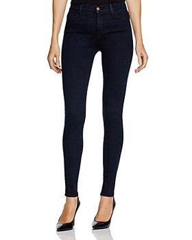 J Brand - Maria High-Rise Skinny Jeans in Bluebird