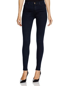J Brand - Maria High-Rise Skinny Jeans in Bluebird