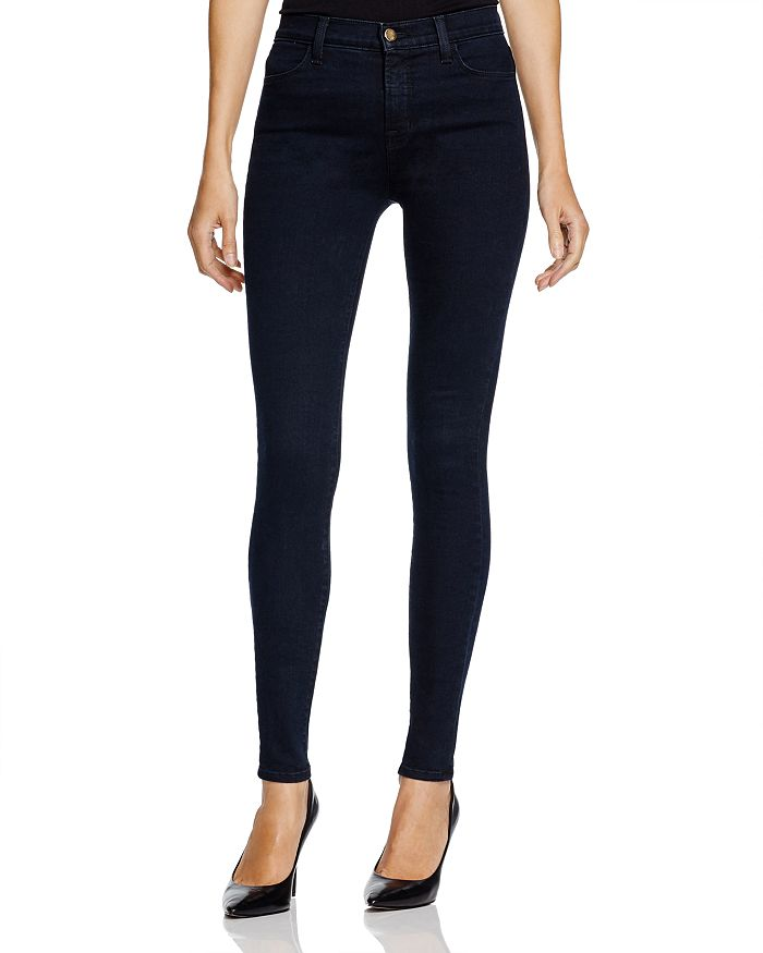 d7c942ec4ab5ef J Brand Maria High-Rise Skinny Jeans in Bluebird | Bloomingdale's