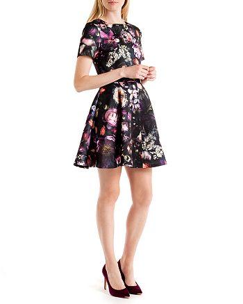 Ted Baker - Tamary Floral Print Skater Dress