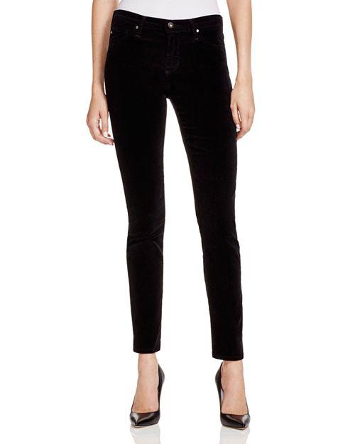 162e81f7ec544 AG Jeans - Prima Corduroy in Black   Bloomingdale s