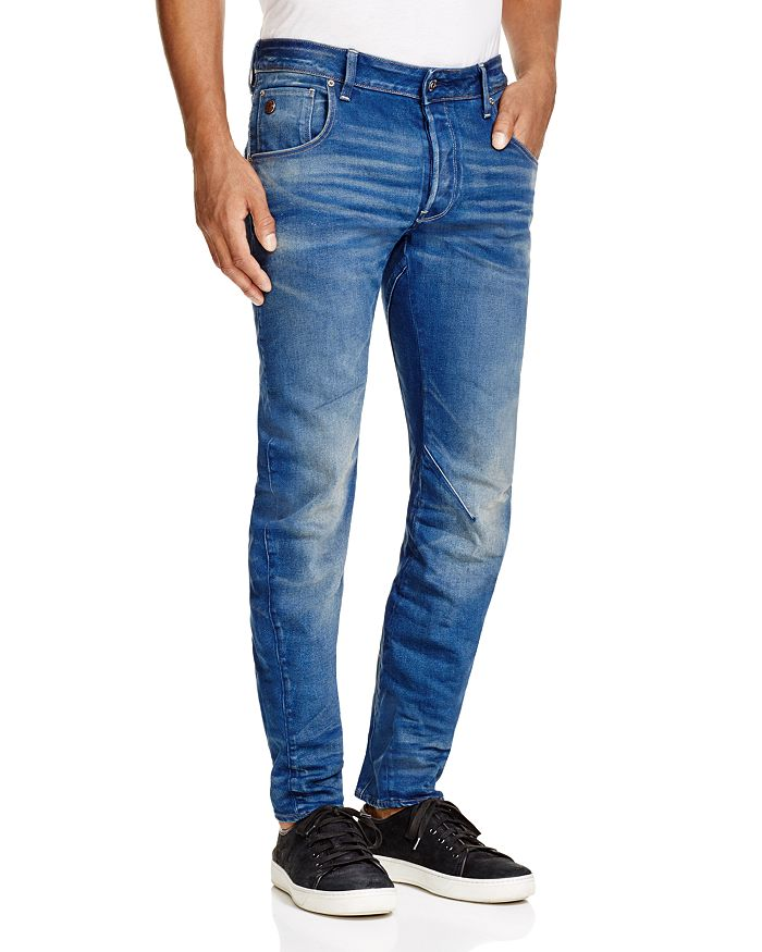 3a2bec81 G-STAR RAW Arc 3D Slim Fit Jeans in Medium Age | Bloomingdale's