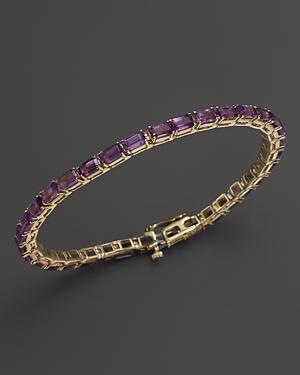 Amethyst Bracelet in 14K Yellow Gold - 100% Exclusive