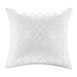 Natori Tsuba Geometric Patterned Decorative Pillow, 20 x 20