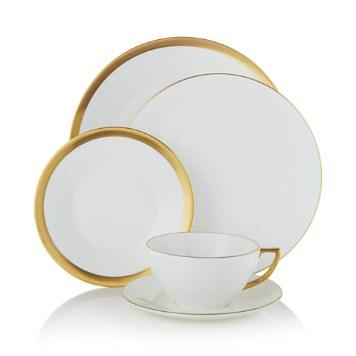 $Jasper Conran Wedgwood Gold Dinnerware - Bloomingdale's