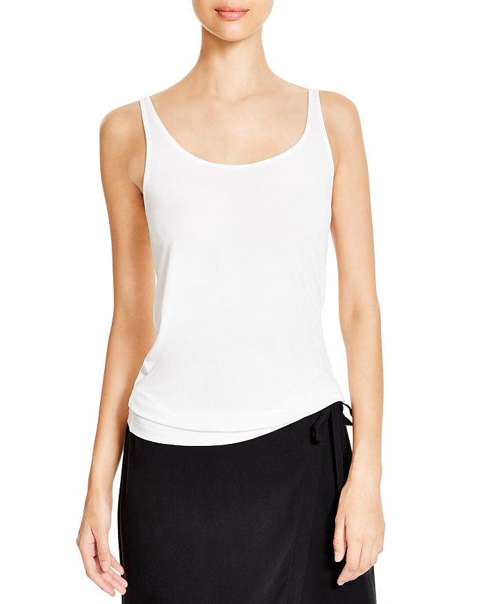 Eileen Fisher - System Scoop Neck Long Silk Cami