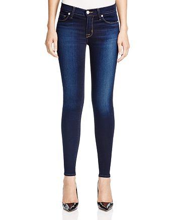 Hudson - Nico Mid Rise Super Skinny Jeans in Redux