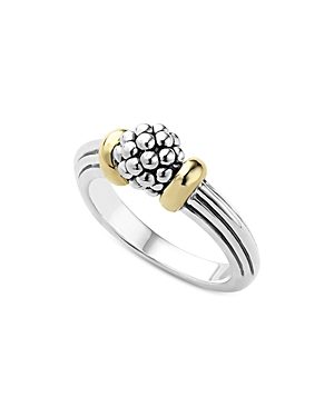 Lagos 18K Gold Caviar Forever Small Dome Ring