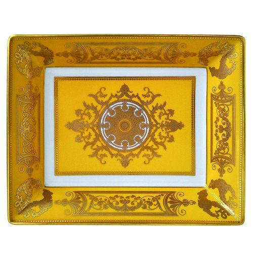 Bernardaud - Aux Rois Porcelain Rectangular Ashtray