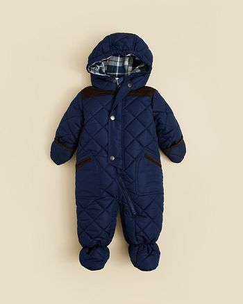 4bee21c19 Rothschild Infant Boys  Quilted Snowsuit - Sizes 3-9 Months ...
