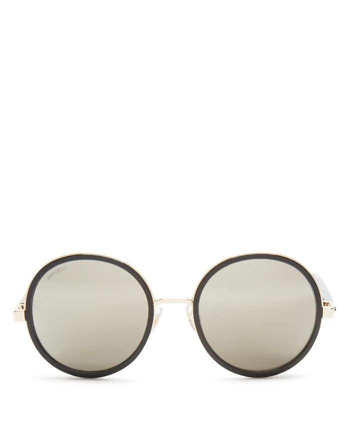d9f46359237b Jimmy Choo Women's Andie Round Sunglasses, 53mm | Bloomingdale's
