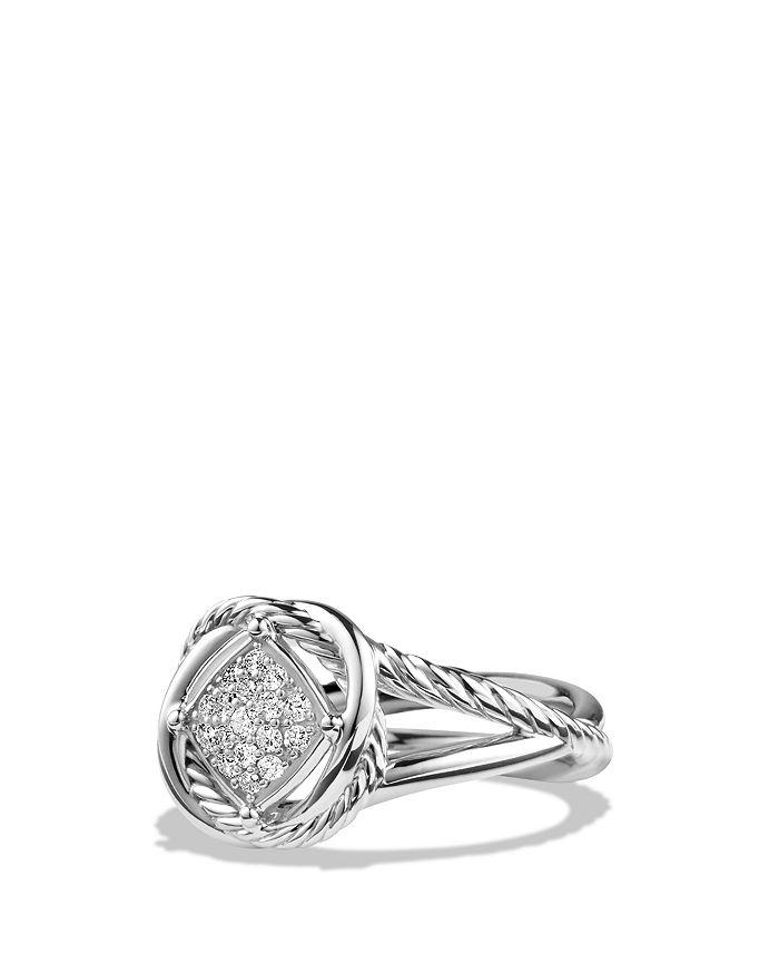 David Yurman - Infinity Ring with Diamonds