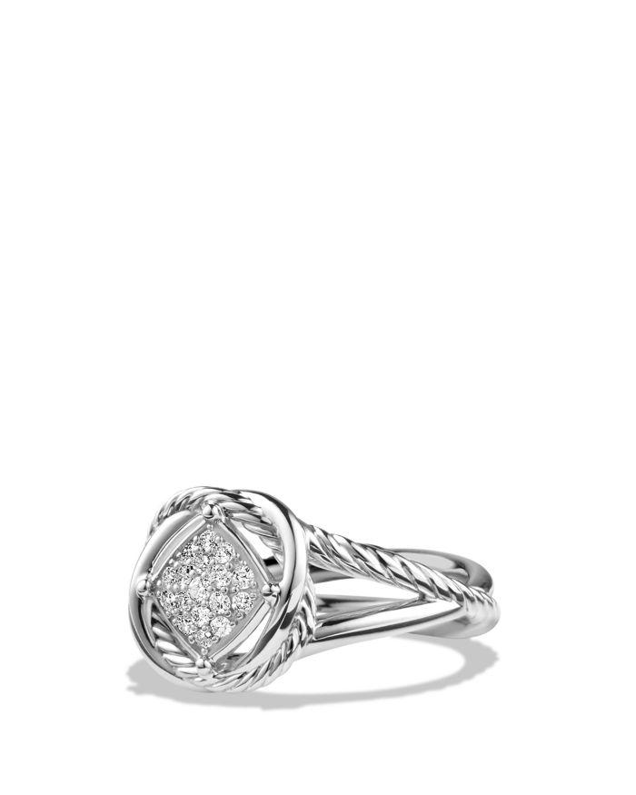 David Yurman Infinity Ring with Diamonds   | Bloomingdale's