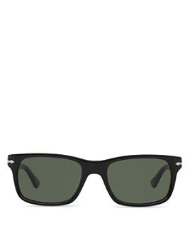 Persol - Men's Officina Rectangle Sunglasses, 58mm