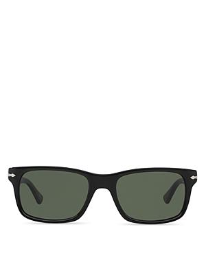 Persol Men's Officina Rectangle Sunglasses, 58mm