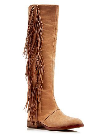 33cd54fb3 Sam Edelman - Josephine Fringe Tall Boots